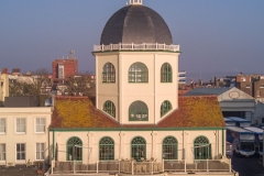The historic Dome Cinema in Worthing, West Sussex, UK